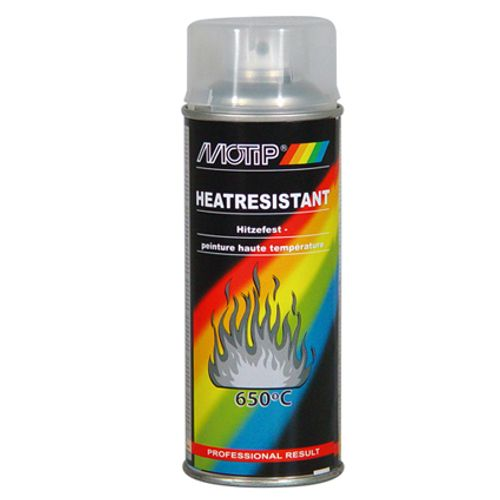 Laque spray MoTip haute température transparent 400ml