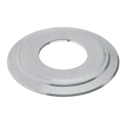 Rosace Saninstal Ø200mm zinc