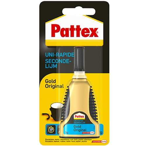 Pattex secondelijm 'Gold Original' 3gr