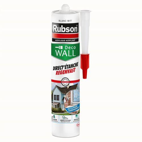 Mastic Rubson Deco Wall Direct'Etanche blanc 280ml
