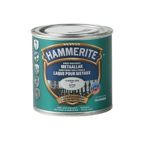 Hammerite satijnlak wit 250ml