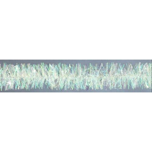 Guirlande de Noël blanc 200x7,5cm