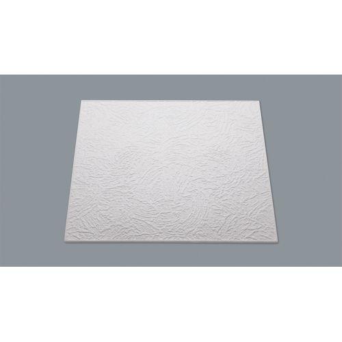 Decoflair plafondtegel 'T90' polystyreen 50 x 50 x 0,8 cm - 8 stuks