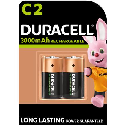 Pile rechargeable Duracell 'C - LR14' 1,2 V - 2 pcs