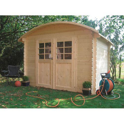 Abri de jardin Solid Dainville I bois 7,09m² 298x238cm