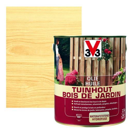 Huile bois de jardin V33 inColore mat 2,5L