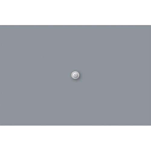 Decoflair rozet M60 in polyurethaan diam. 80mm - 2 stuks