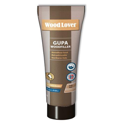 Wood Lover vulmiddel 'Gupa' Woodfiller teak 65 ml