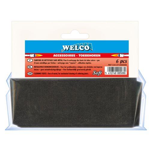 Tampons de nettoyage Welco - 6 pcs