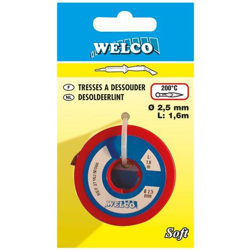Tresses à dessouder Welco cuivre