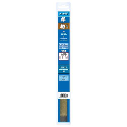 Electrodes de soudure Welco pour fonte 3.2x350mm - 3 pièces