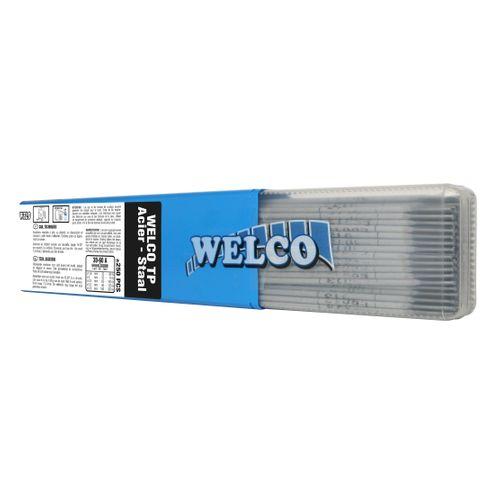 Electrodes de soudure Welco pour acier 1.6x300mm - 250 pièces
