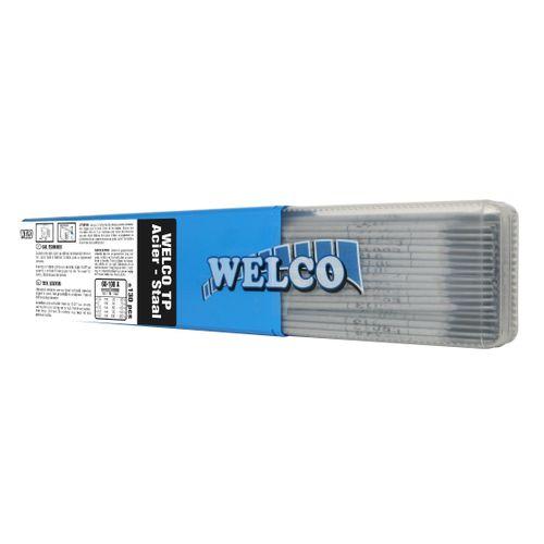 Electrodes de soudure Welco pour acier 2.5x350mm - 130 pièces