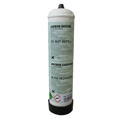 Bouteille de gaz jetable Welco CO2 1L