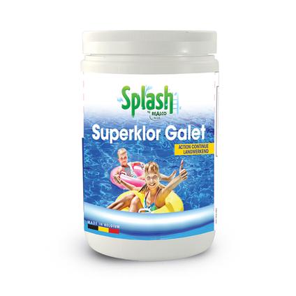 Splash chloor in galet Superklor 1kg
