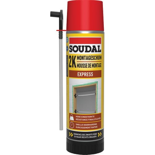Mousse d'isolation PU Soudal 2K Express 500ml