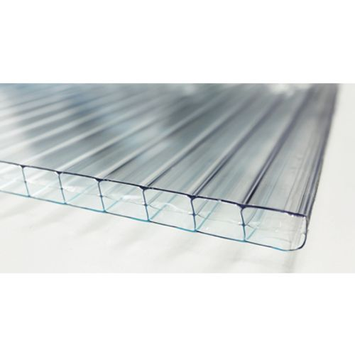 Sunlite dubbelwandige polycarbonaatplaat 2,5 m x 10 mm
