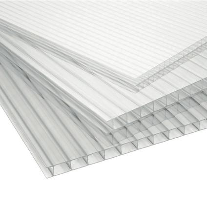 Plaque de polycarbonate Sunlite double parois 2,5 m x 16 mm