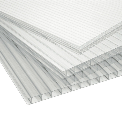 Plaque de polycarbonate Sunlite double parois 2 m x 10 mm