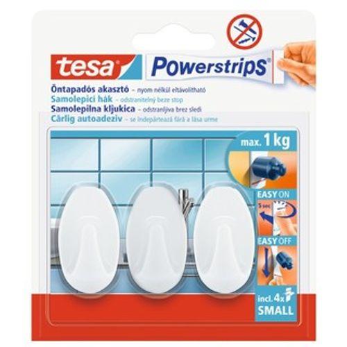 Tesa Powerstrips zelfklevende haak 57533-00016-01