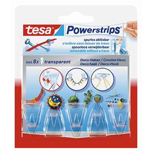 Tesa zelfklevende decoratie haak 'Powerstrips' 58051-10-01