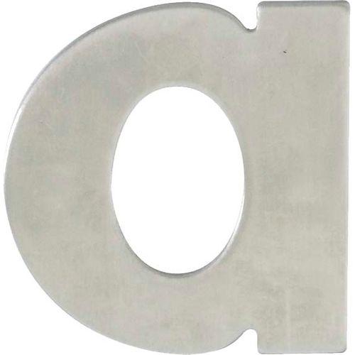 Lettre de maison Bertomani 1090 A en inox 60 mm