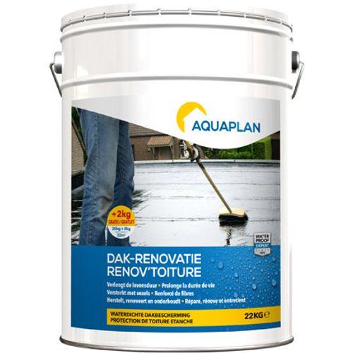 Aquaplan dak renovatie  20kg plus 2kg