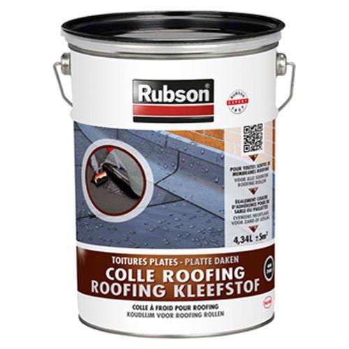 Rubson roofing kleefstof zwart 4,34 L