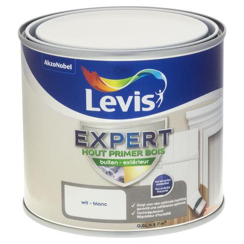 Primer laque extérieur Levis 'Expert' blanc 500 ml