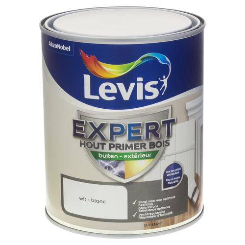 Primer laque extérieur Levis 'Expert' blanc 1 L