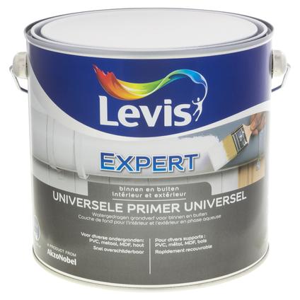 Levis Expert Universele primer binnen en buiten wit 2,5L