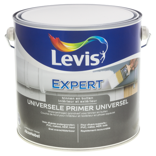 Levis universele primer wit 2,5 L