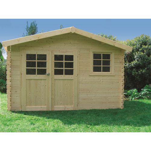 Abri de jardin Solid 'Chimay' bois 9,18 m²