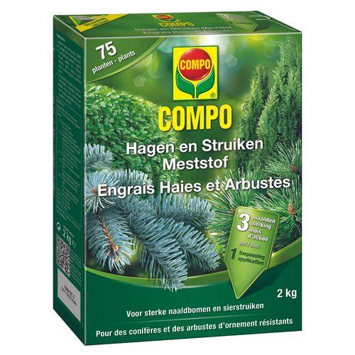 Engrais haies et arbustes Compo 2kg
