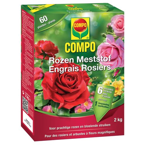 Engrais roses Compo 2kg