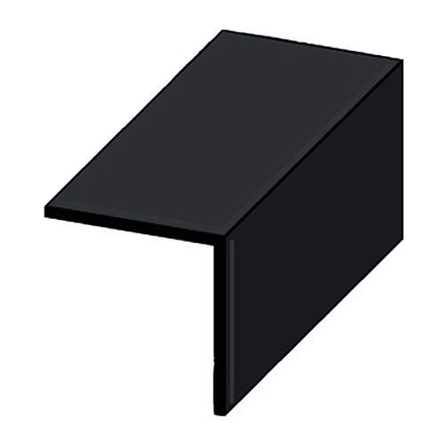 Profilé angle JéWé PVC noir 30x30mm