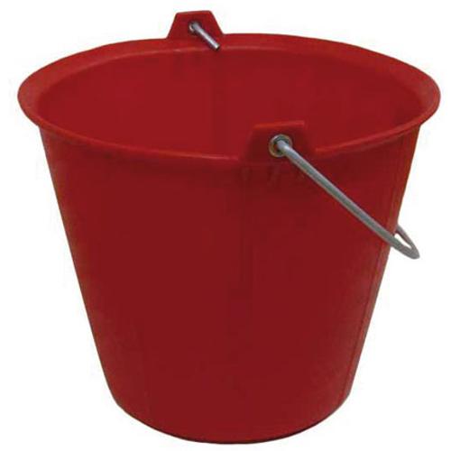 Varas bouwemmer rood 13 L