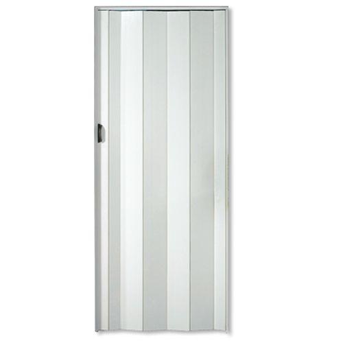 Grosfillex vouwdeur 'Una' PVC wit 205 x 84 cm