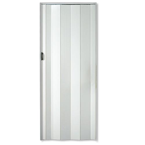 Porte accordéon Grosfillex 'Una' PVC blanc 205x84cm