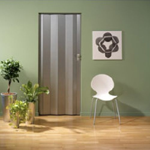 Lamelle pour porte accordéon Grosfillex 'Spacy' PVC alumium 205x145cm