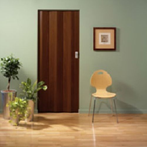 Grosfillex lamel voor vouwdeur 'Spacy' PVC palissander 205x145cm