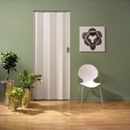 Grosfillex lamel voor vouwdeur 'Spacy' PVC wit nerf 205x145cm