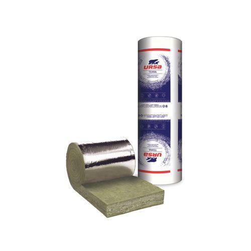 Rouleau de laine de verre à languettes Ursa 1200 x 45 x 6 cm - 2 pcs