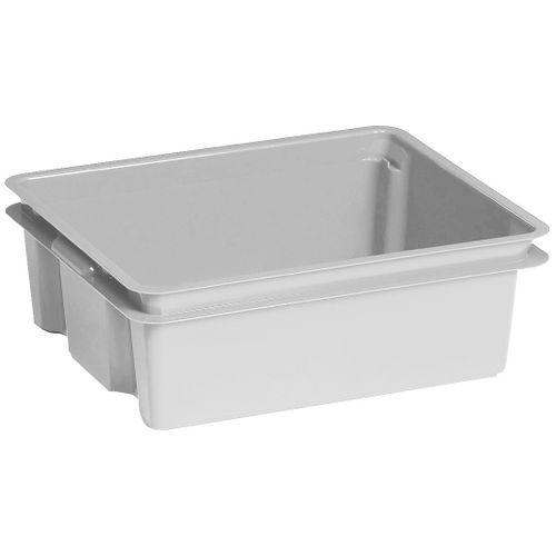 Boite de rangement Keter Crownest 17L PVC gris clair