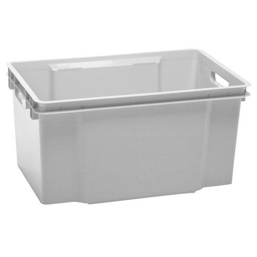 Boite de rangement Keter Crownest 50L PVC gris clair
