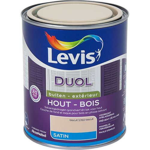 Laque Levis Duol biscuit satin 750ml