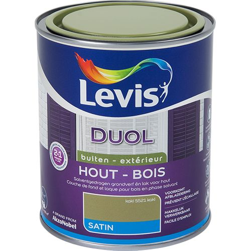 Laque Levis Duol kaki satin 750ml