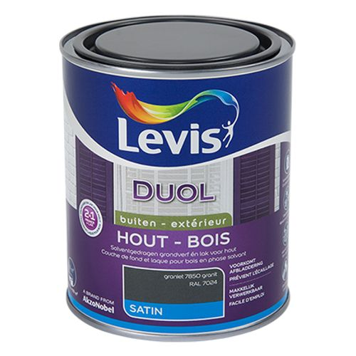 Laque Levis Duol granit satin 750ml