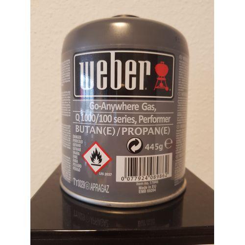 Weber gasfles voor barbecue Q1000 en Q200