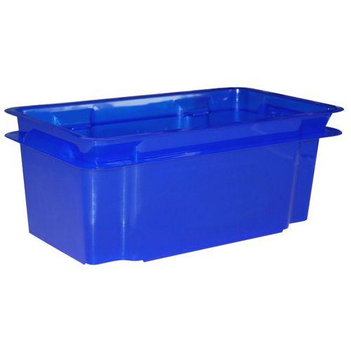 Keter opbergbox Crownest PVC laserblauw 7L